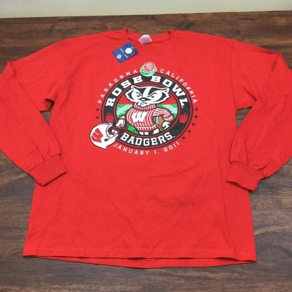 Gildan Other - GILDAN NEW Men's 2011 Red Rose Bowl Badgers Shirt